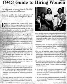 1943+Guide+to+Hiring+Women.jpg 511×640 pixels