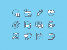 Medical - Icon set by Andrew McKay