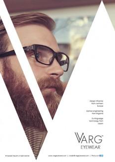Varg Eyewear Advertisements on Inspirationde