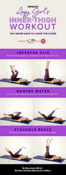 Lie on Your Back, Relax, and Work Your Inner Thighs the Lazy-Girl Way on Inspirationde