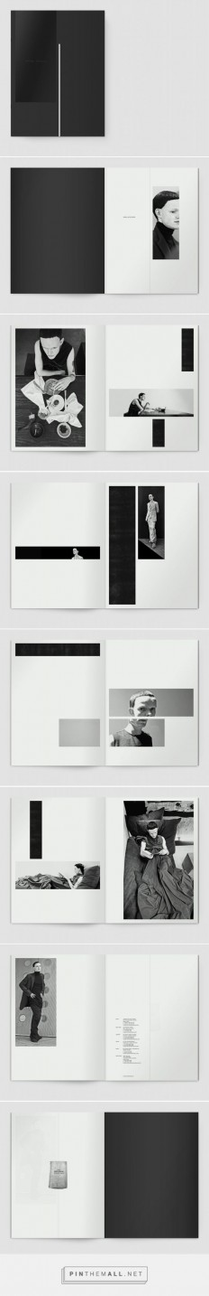 Notter + Vigne, S/S12 Naska men, Lookbook Rick Owens, 2011. | DESIGN 04 | The Photo Layout | Pinterest