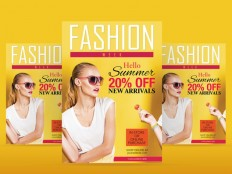 Fashion Flyer Template PSD - Free Download | Freebiesjedi