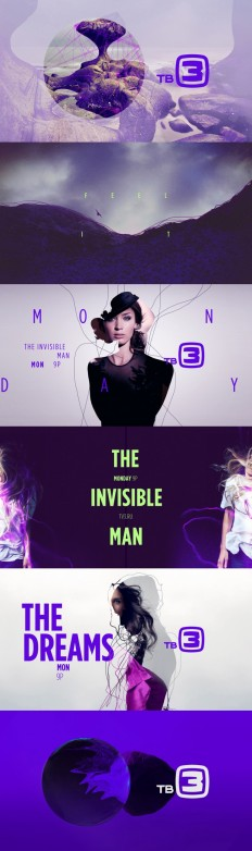 Style frames – motion graphic design TV3 by Carla Dasso on Inspirationde