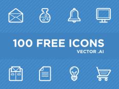100 Free Vector Icons AI - Free Download | Freebiesjedi