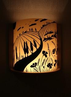 Wandleuchten - Wandlampe Toskana - ein Designerstück von annri bei DaWanda