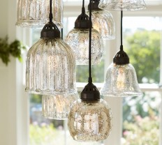 Kenzie Mercury Chandelier | Pottery Barn