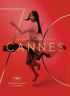 Claudia Cardinale Dances On Poster For 70th Cannes Film Festival on Inspirationde