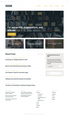 Ixion Theme — WordPress.com