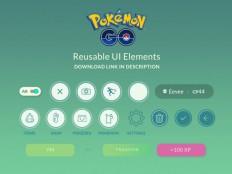 Pokemon Go UI Kit - Free Download   Freebiesjedi