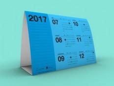 Free Printable Tent Calendar 2017 - Free Download | Freebiesjedi
