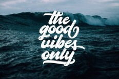 The Goods Vibes Only on Inspirationde
