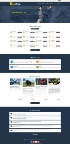 Roistore.com homepage screenshot | roistore