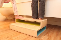 Step Up | A Modern Step Stool for Kids on