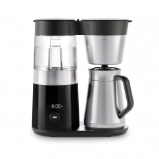 OXO on - grinding & brewing on