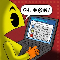 Pacman on Twitter. Game Over. – The Next Web