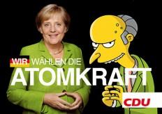 Top: Erste Remixe der Merkel-Abschlussplakate tauchen auf. on Twitpic