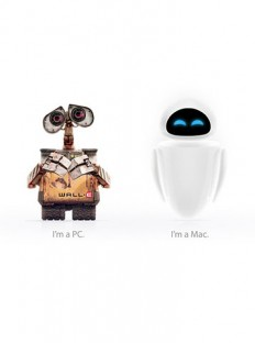 WALL·E is a PC, EVE is a Mac - Fubiz™