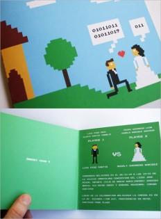 8-bit Wedding Invite [PIC]