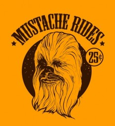 Mustache Rides TShirt by Joannarchy on Etsy