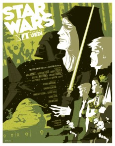 return of the jedi poster by *strongstuff