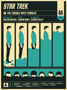 Star Trek: The Trouble With Tribbles Posters by Olly Moss
