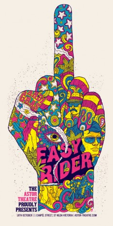 Cool Stuff: 'Easy Rider' and 'Taxi Driver' Posters By Methane Studios | /Film