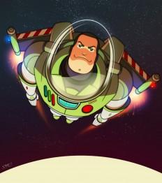 Spotlight: Buzz Lightyear | Oculoid | Art & Design Inspiration