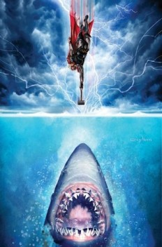 This painting of Thor versus Jaws needs to be airbrushed on a van