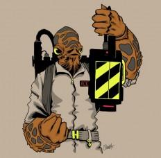 "Cool Stuff: ""It's A Trap"" Star Wars/Ghostbusters T-Shirt Mash-up | /Film"