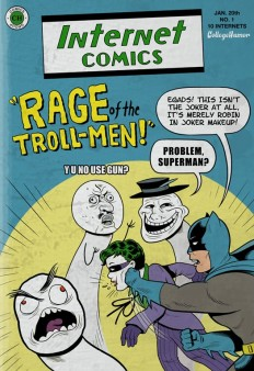 """Batman Vs. The Internet"" by Caldwell Tanner and Kevin Corrigan on CollegeHumor"