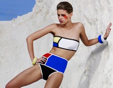 Mondrian Swimwear Collection by Sarah Schofield