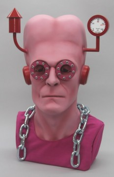 It's Alive, Life-Size Frankenstein Busts Re-imagined For Charity