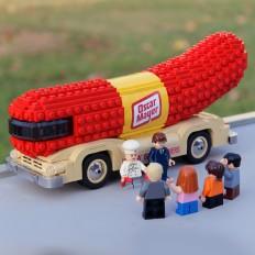 LEGO Oscar Mayer Wienermobiles