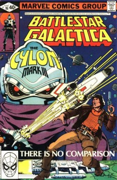 space1970: BATTLESTAR GALACTICA (1979-80) Marvel Comics Cover Gallery - Part 3