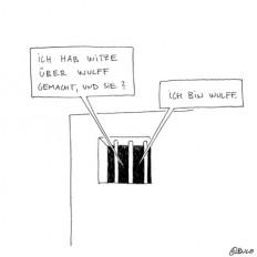 Ins Gefängnis, weil ich andere verarsche?! Wie muss ich mir d... on Twitpic