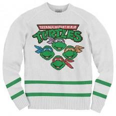 Teenage Mutant Ninja Turtles Knit Sweatshirt - RIPPLE JUNCTION - Teenage Mutant Ninja Turtles - Sweatshirts at Entertainment Earth