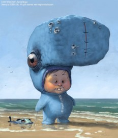 Whaleboy by BobbyChiu - Bobby Chiu - CGHUB