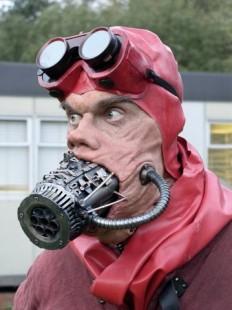 silicone prosthetic gun-head by Barbelith2000 - Rick Leach - CGHUB