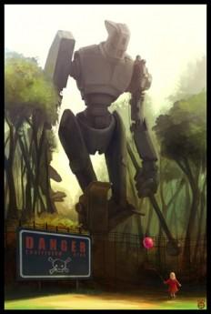 Robot vs. Girl by Sept13 - Silver Saaremäel - CGHUB