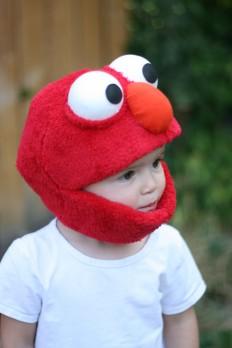 Elmo Mask size Medium von JustZipity auf Etsy