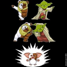 This Is What Happens When You Mix Yoda And An Ewok [T-Shirt]