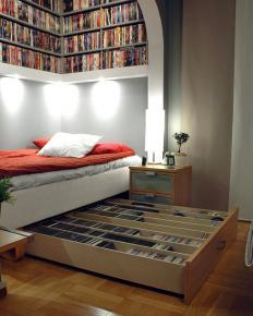 Fancy - Movie Library Bedroom Storage by IKEA