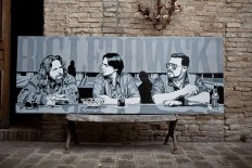 Big Lebowski tribute stencil | Flickr - Fotosharing!