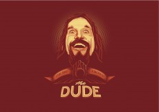 THE DUDE vector wallpaper by ~depot-hdm