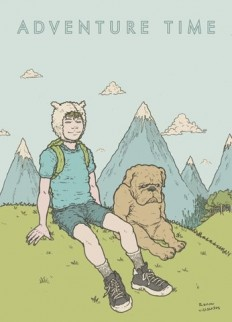 Adventure Time Art Print by Ramon Villalobos | Society6