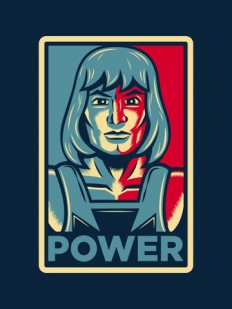 Power....he has it! Art Print by Matthew J Parsons | Society6