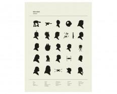 ALPHABET Star Wars Inspired Poster Nursery von CONCEPCIONSTUDIOS