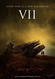 Fan Made Star Wars: Episode VII Poster Artwork by Lyndon Berresford