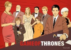 Game of Thrones Characters Reimagined in Mad Men, Seinfeld and Arrested Development