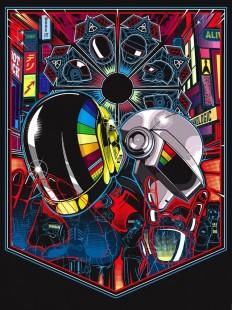 Sneak Peek: New Daft Punk-Inspired Art Show - My Modern Metropolis